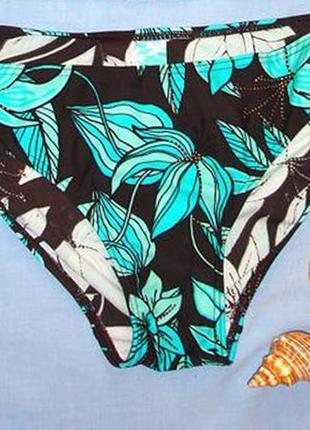 Низ от купальника раздельного женские плавки бикини размер 46-48 / 14 бирюзовый1