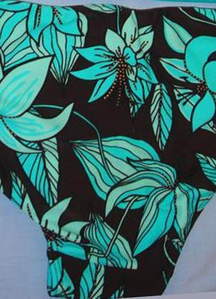 Низ от купальника раздельного женские плавки бикини размер 46-48 / 14 бирюзовый3
