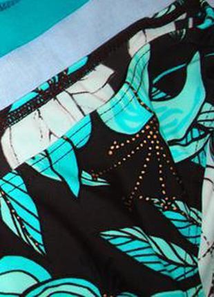 Низ от купальника раздельного женские плавки бикини размер 46-48 / 14 бирюзовый4