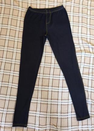 Лосины джинсовые new look1