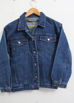 Джинсовый пиджак, 40 размер1