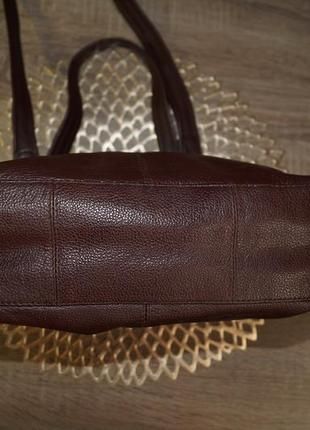Bruno antonini! кожа! классная и практичная сумка средних размеров3