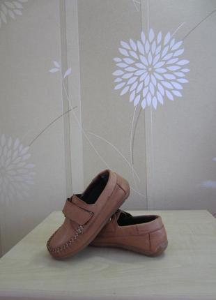 Кожаные туфли мокасины next, р.29