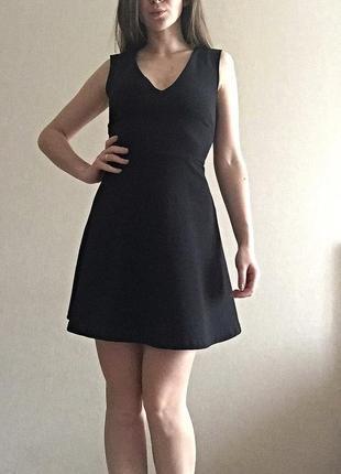 Чёрное платье zara4