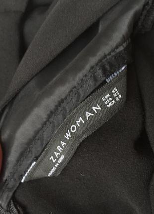 Чёрное платье zara2