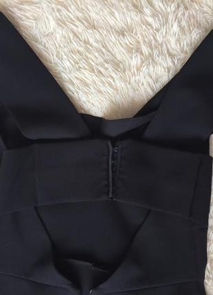 Чёрное платье zara3