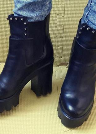 Ботинки sasha fabiani (кожа) 36-37 р.1