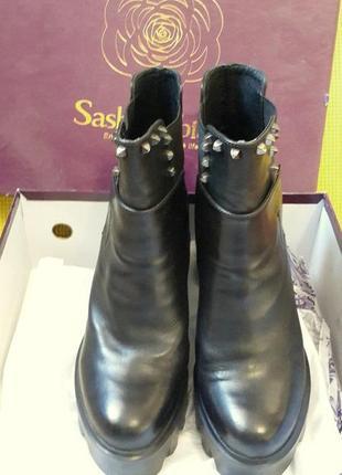 Ботинки sasha fabiani (кожа) 36-37 р.2