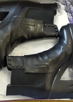 Ботинки sasha fabiani (кожа) 36-37 р.3