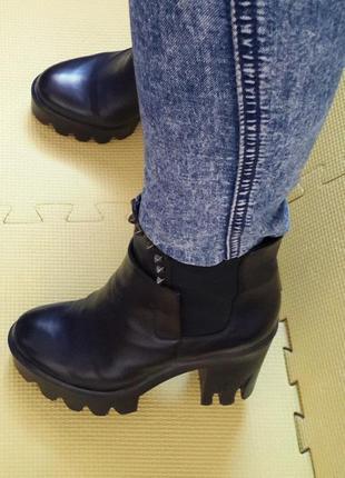 Ботинки sasha fabiani (кожа) 36-37 р.4