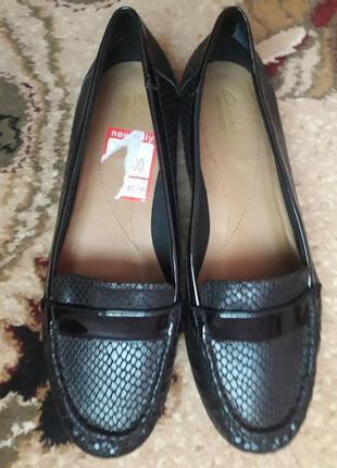 Туфли лоферы  clarks 41 размер1