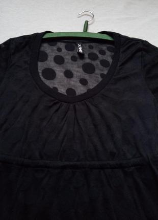 Красивая прозрачная футболка only размер s - м2