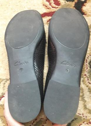 Туфли лоферы  clarks 41 размер5