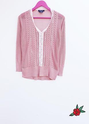 Пепельно розовый джемпер с шелком шелковый джемпер в составе натуральный шелк1