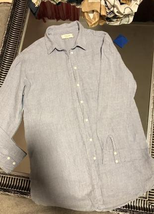 Рубашка женская хлопок очень приятная на ощупь , лёгкая и тоненькая1