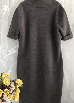 Люксовое ♥️👑♥️ шерстяное платье из шерсти escada, италия, m-l.2