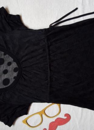 Красивая прозрачная футболка only размер s - м5