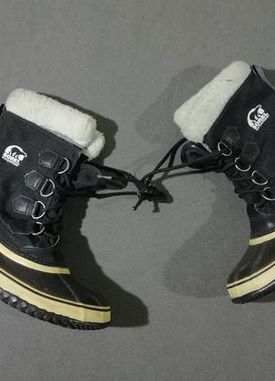 Женские термо-ботинки сапоги sorel winter carnival1