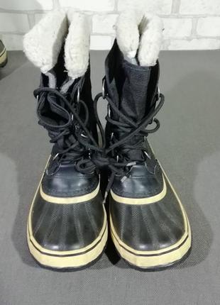 Женские термо-ботинки сапоги sorel winter carnival2