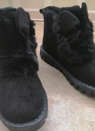 Зимние ботинки с ушками4
