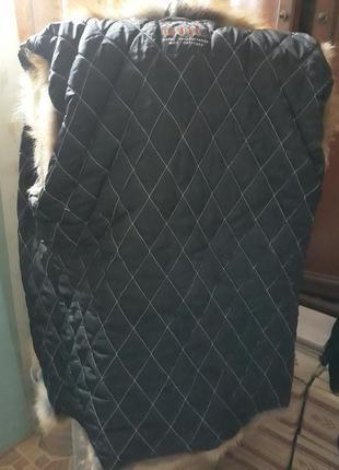 Желет с натурального меха лисы1