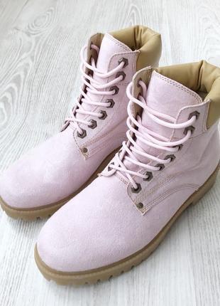 Ботінки рожеві