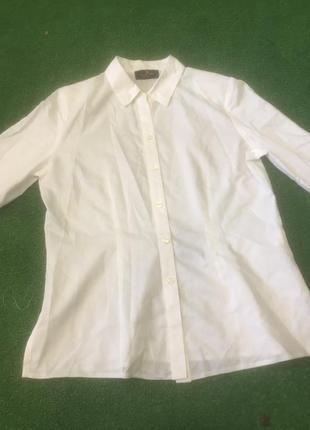 Женская белая блузка1