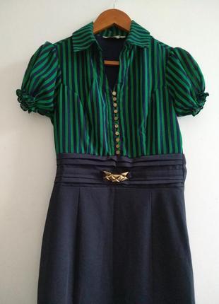Платье женское, офис1