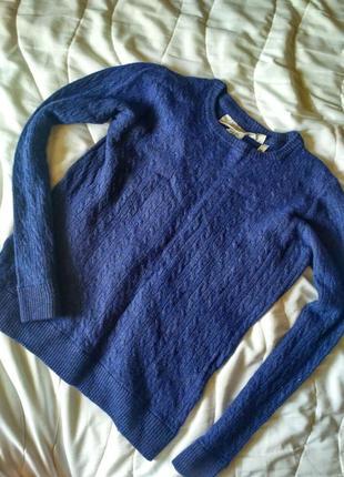 Красивый, стильный,фирменный,теплый, шерстяной свитер,1