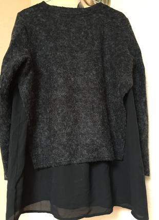 Ддемпер с блузой обманкой р.m-l3