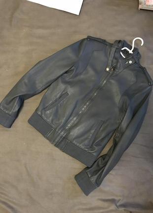 Продам кожаную курточку1