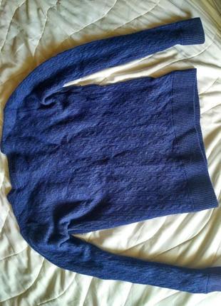 Красивый, стильный,фирменный,теплый, шерстяной свитер,3