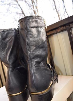 Кожаные ботинки ботильоны catwalk р.42/43 us-11 28.2 см широкую2