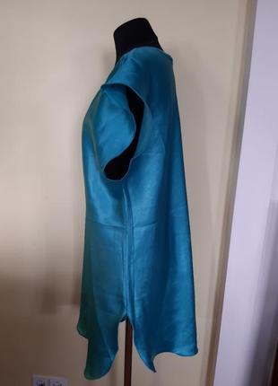 Ночная рубашка ночнушка бирюза.кружево f&f  раз.42-443