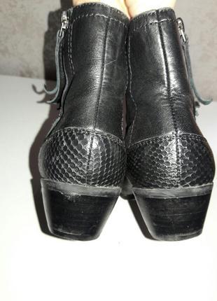 Ботильйоны кожаные footglove 38-39 размер2