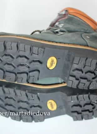 Теплые треккинги ботинки полусапожки, натуральная кожа, бренд dockers оригинал5