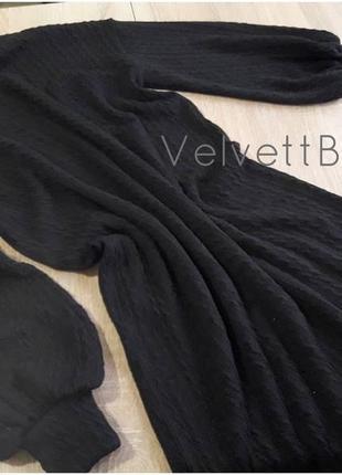 """Платье свитер оверсайз """"vittoria""""3"""