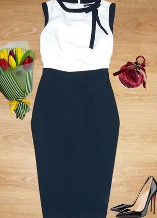 Элегантное платье миди по фигуре m&s размер 141