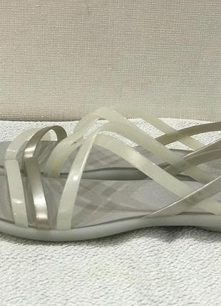 Босоножки crocs isabella strappy sandal раз. w5-22,5см3