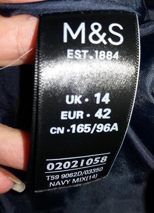 Элегантное платье миди по фигуре m&s размер 143