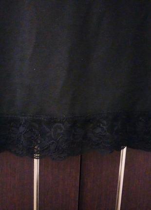 Женское черное платье3