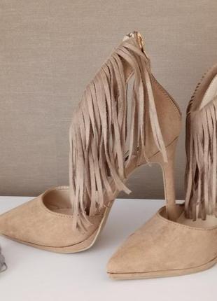Трендовые туфли с застежкой сзади3