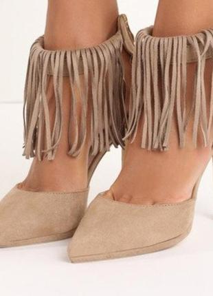 Трендовые туфли с застежкой сзади1