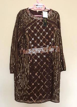 Платье с длинными рукавами lovedrobe luxe3
