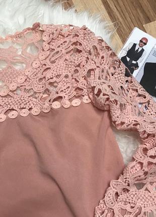 Кружевна блуза2