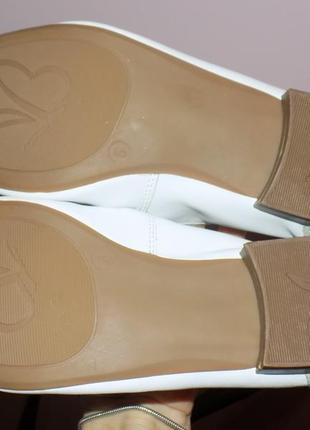 Кожаная стильная и фирменная женская обувь от caprice 38 р4