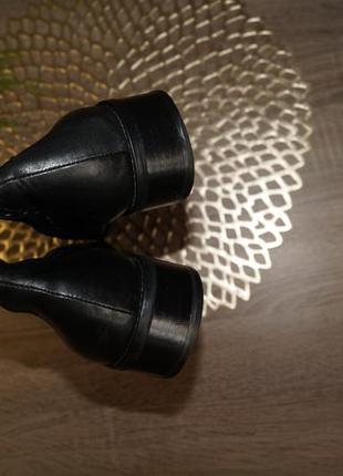 (40/26см) marco tozzi! кожа! качественные фирменные сапоги на низком ходу3