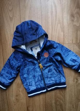 Бомбер, куртка, ветровка timberland на малыша 6 мес