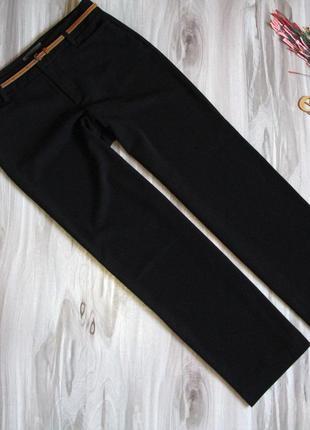 Базовые , черные брюки на высокую девушку размер eur 42/ 441