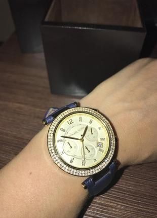 Часы michael kors   women´s parker mk2280 blue4